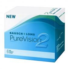 PureVision 2 (6 линз) + BioTrue (300 мл)